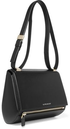 b724afd71ab1e7 Givenchy - Pandora Box Medium Textured-leather Shoulder Bag - Black