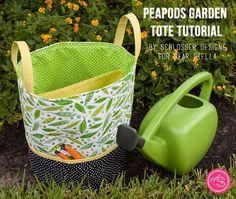 Peapods Garden Tote