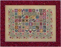 Quilted Garden - Cross Stitch Pattern