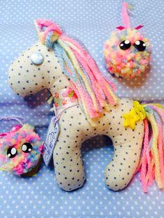 Unicorno cucito a mano by Creazioni Rosaspina