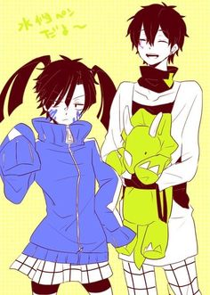 Takane and Haruka [Cosplaying Ene and Konoha]  Takane y Haruka [Haciendo Cosplay de Ene y Konoha]