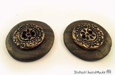 Indrani Handmade: Nasturi din fimo realizati manual