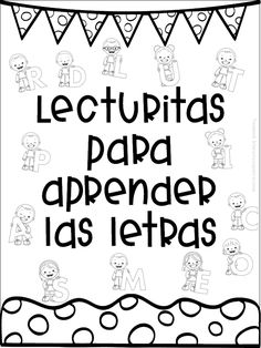 Excellent lecturitas to learn the letters for first and second grade of pr . - Excellent lecturitas to learn the letters for first and second grade of primary Preschool Education, Bilingual Education, Classroom Activities, Teaching Resources, Art Education, Texas Education, Craft Activities, Higher Education, Special Education