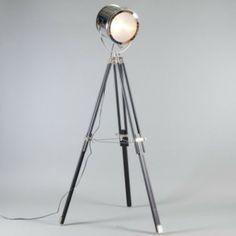 Vloerlamp Tripod Surveyor 2 - Vloerlampen - Binnenverlichting - Lampenlicht.nl