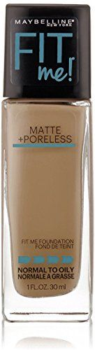 Maybelline New York Fit Me Matte  Poreless Foundation Warm Nude 128 1 oz Pack of 4 ** You can get more details by clicking on the image.