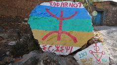 Símbolo Berbere na montanha