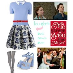 Me before you // Lou Clark by beth-why-not on Polyvore featuring polyvore, Chicwish, ASOS, Gucci, Olympia Le-Tan, fashion, style and clothing