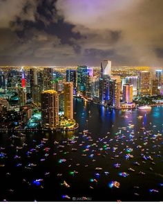 Experience Miami at Night by Private Yacht http://www.captnicksmiamicharters.com/
