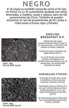 Té Negro (variedades)