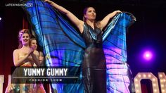 Incredible latex butterfly wings in the @yummygummylatex fashion show at @sexhibition_uk  - #latex #latexfashion #latexmodel #latexfetish #model #rubber #rubberfashion #altmodel #fetishfashion #rubbermodel #rubberfetish #latexfashiontv #LFTV #fetishmodel #sexhibition #manchester #latexdress #catwalk #runway #filmmaker #filmmaking #yummygummy #sexhibition2016 #fashionshow #wings #butterfly #cosplay