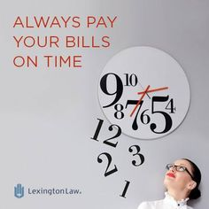 Credit-Tip-Tuesday! Always pay on time even if you can only make the minimum payment.