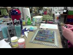 Check out my video on how I use the Gelli Arts new technique to make a twist on washi tape on the gelli plate using shipping tape as a image transfer film.   www.inkyobsessions.blogspot.com