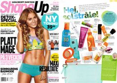 Transderma Skin Care Transderma M in Shapeup Magazine in Sweden 2014 http://www.mytransderma.com/beautifulskin/?p=1398