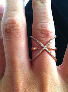 Maybe... i forgo part of my down payment for my house and buy this GORG Eva Fehren ring.... champagne taste probz...