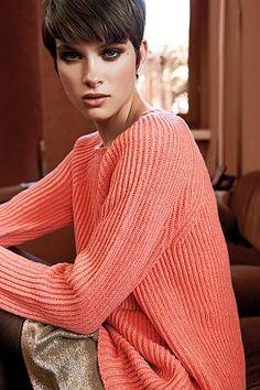 Lazzari comes back Autumn Fashion, Vogue, Sari, Turtle Neck, Sweaters, Collection, Style, Colors, Saree