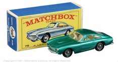 Matchbox Regular Wheels No.75b Ferrari Berlinetta.