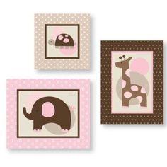 Amazon.com: Lambs and Ivy Wall Décor, Emma: Baby