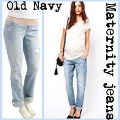 Motherhood maternity boy friend jeans | Boyfriend jeans, Boys and Keys