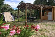 Plaats Prestige Badkamer - Camping Les Olivettes - 04190 - Les Mées - France