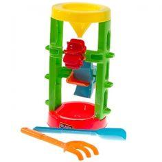 Hot 3 Pcs Funny Plastic Large Sandglasss Summer Beach Toy Set for Kids