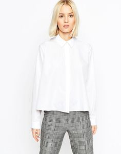 ASOS+Trapeze+Long+Sleeve+Shirt