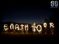 Earth Hour March 23 at 8:30 PM