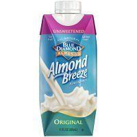 Blue Diamond Unsweetened Original Almond Breeze (12x11OZ )