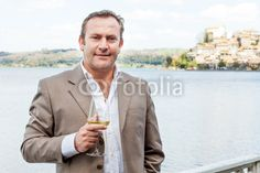 New stock photo available for sale at Fotolia: Man With Glass Of Wine