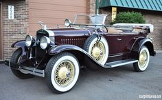 1928 LaSalle Dual Cowl Sport Phaeton - (LA SALLE brand marketed by General Motors Cadillac division, Detroit, Michigan (1927-1940)