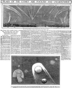 FEARS OF THE COMET ARE FOOLISH AND UNGROUNDED