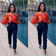 See Millions of Latest Ankara/Asoebi styles and other outfits stylish women are wearing to Parties , Work and Weddings on Od9jastyles.com #africafashion,
