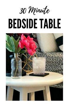 Make a bedside table