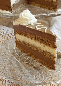 Pastry Recipes, Sweets Recipes, Cake Recipes, Romanian Desserts, Layered Desserts, Torte Cake, Sweet Pastries, Sweet Tarts, Desert Recipes