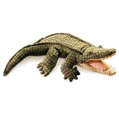 Developmental Baby Toys United Hand Puppets Role Play Realistic Gloves Lion Dog Crocodile Gorilla Funny Toy Co