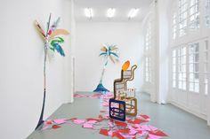 British artist Gary Webb's plastic and playful palm trees – Zioxla