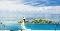 Le complexe de 46 villas  sur 7 hectares de végétation tropicale est situé sur l'île de Moorea, île aux milles couleurs...Les villas sont proposées avec un service hôtelier. Aujourd'hui, par sa qualité de services, nous vous offrons le luxe de pouvoir réaliser un séjour à la carte. Moorea, qui signifie «lézard jaune» en tahitien, est une île de la Société îles de la Polynésie française, 17 km (environ 9 milles) au nord-ouest de Tahiti.