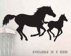 horse wall art decal – Etsy AU