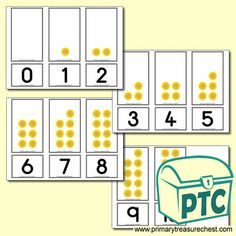 Sunflower Number Shapes Matching Cards 0 to 10 Teaching Activities, Teaching Art, Teaching Ideas, Teaching Resources, Number Activities, Numicon, Thanksgiving Math, Halloween Math, Shaped Cards