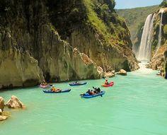 Iré de paseo a Santa Maria River in Mexico