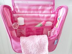 Personalized Toiletry Bag | Stuck on You | 10 Personalized Products for Camp Shop > www.stuckonyou.biz