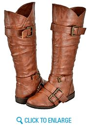 Chestnut Women Riding Boots. Adorable and practically free