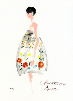 NM Insider: Christian Dior sketch.