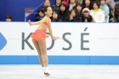 Mao Asada (JPN), .NOVEMBER 23, 2012 - Figure Skating : Mao Asada  of Japan performs during the ISU Grand Prix of Figure Skating 2012/2013 NHK Trophy Women's Short Program at Sekisui Heim Super Arena Grande21, Miyagi, Japan. .(Photo by AFLO)