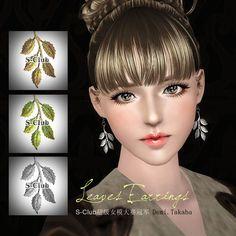 S-Club Privée | Leaves Earrings