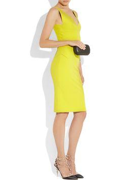 Roland Mouret|Ekubu stretch-cotton dress|NET-A-PORTER.COM