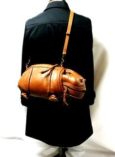 Hippo bag by Atelier Iwakiri I JUST DIED A LITTLE BIT!!!!!