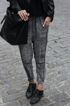 I like the pants, especially the material