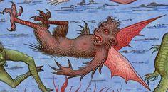 discarding images - fallen angels Vincent of Beauvais, Speculum. Medieval Manuscript, Medieval Art, Illuminated Manuscript, Medieval Life, Religious Paintings, Religious Art, Bruges, Old Best Friends, Renaissance