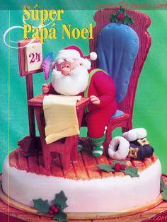 МК лепка стул,стол -gumpaste table and chair tutorial - Мастер-классы по украшению тортов Cake Decorating Tutorials (How To's) Tortas Paso a Paso