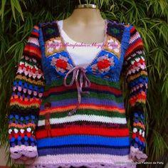 Sweters,crochet.